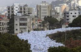 """黎巴嫩遭""""垃圾围城"""""""