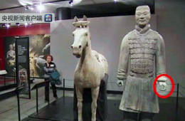 文物局:在美受损兵马俑已运回国