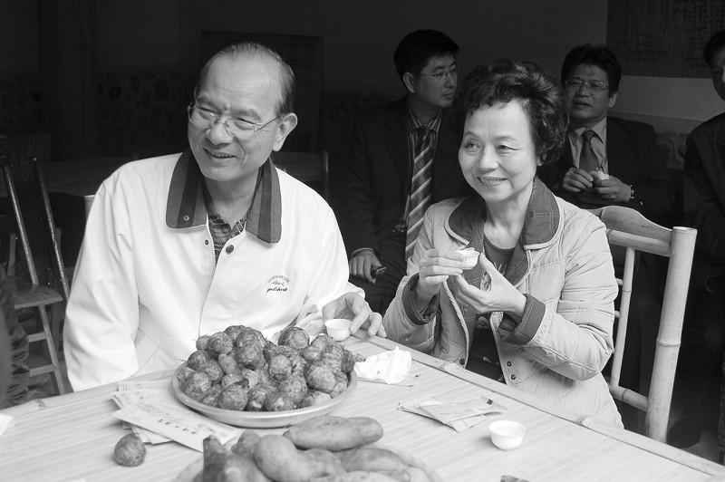 国民党副主席林丰正五回漳州祖地