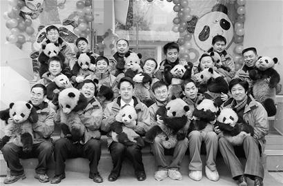 卧龙16只大熊猫宝宝 昨天上幼儿园啦!