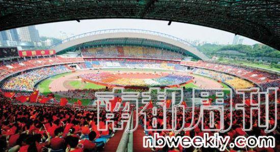 重庆唱红活动现场