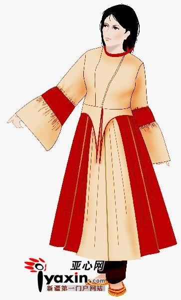 动漫卡通情色风行_西域古代服饰技术精湛两千年前喇叭裙百褶裙就流行
