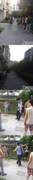 事發地點 照片由網友 @路人大猛羽 提供