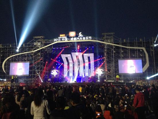 中国汽车音乐节_成都电台主办汽车音乐节收官|音乐节|汽车|成都_新浪新闻