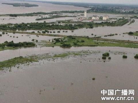 黑瞎子岛被淹图片_黑龙江黑瞎子岛遇史上最严重洪灾 过水面积超9成|黑瞎子岛|洪灾 ...
