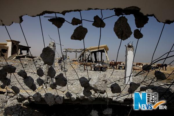 以色列空袭加沙地带_以色列战机空袭加沙地带(组图)_新闻中心_新浪网