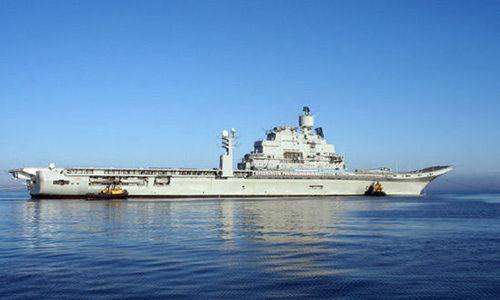 维克拉玛蒂亚号交付_印度二手航母出色完成海试 将进行舰载机试飞_新浪新闻