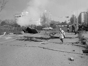 黄岛历史天气_青岛输油管道爆炸 已致35人遇难 另有166人受伤 初步分析为管线 ...