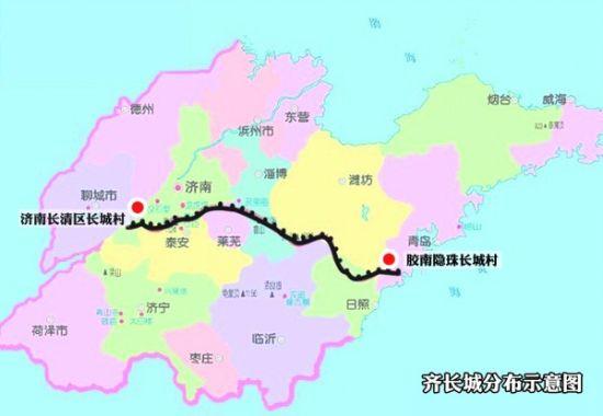 济南历城地图全图