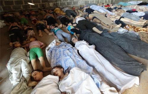 叙利亚死人图片_叙利亚现涉化武视频 俄方认为是有预谋的挑衅(组图)_新浪新闻