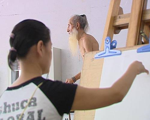 9月人体艺术_真情实录9月23日播出《八十八岁的人体模特》