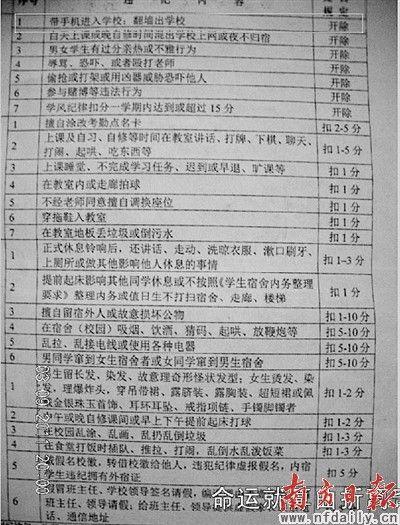 中学生管理办法_广西多名中学生因带手机进课堂被开除_新闻中心_新浪网