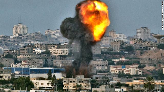 巴以冲突_巴以冲突升级 以军持续轰炸加沙