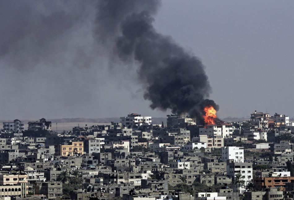 巴以冲突_巴以冲突进入第16天 670余巴勒斯坦人死亡