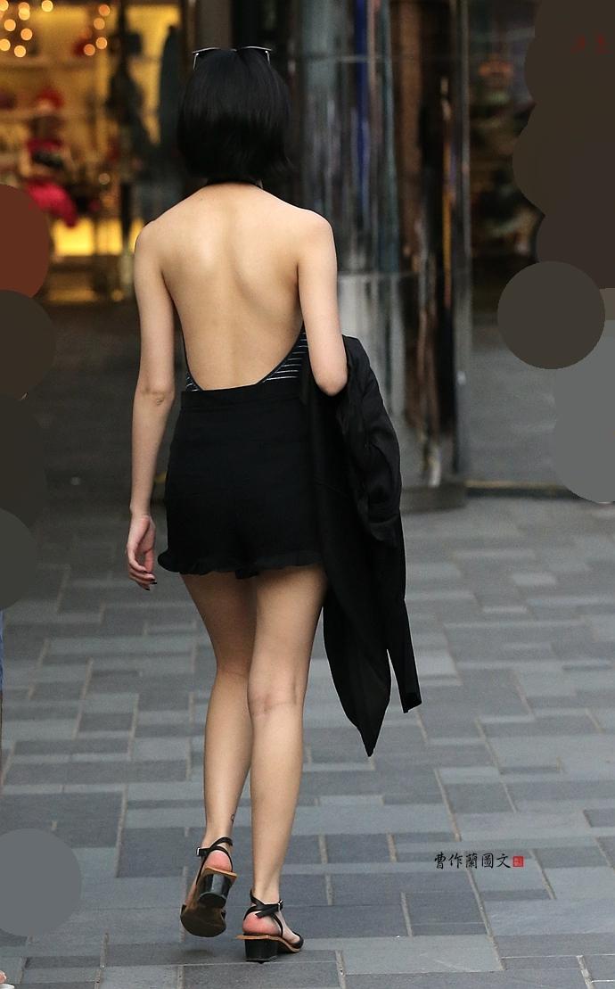 女人背影_街拍最撩汉背影杀美女 美得像油画