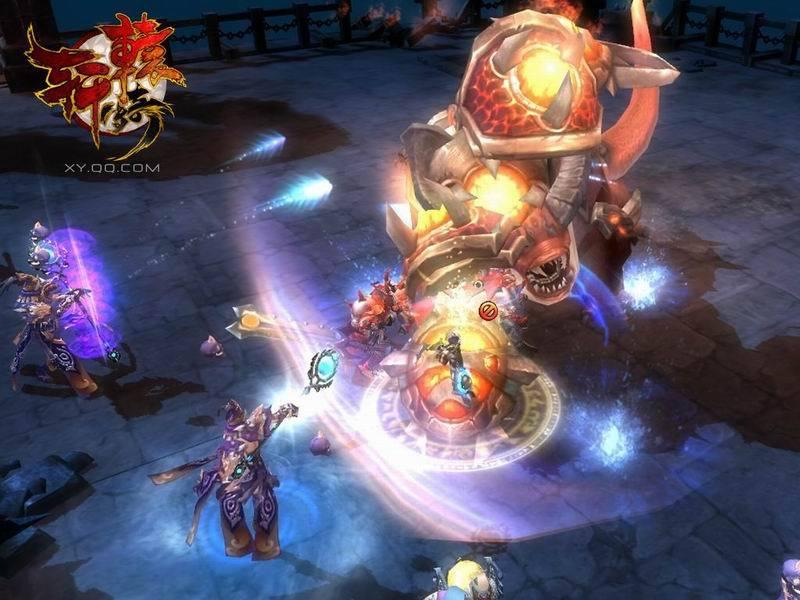 《轩辕传奇》游戏截图