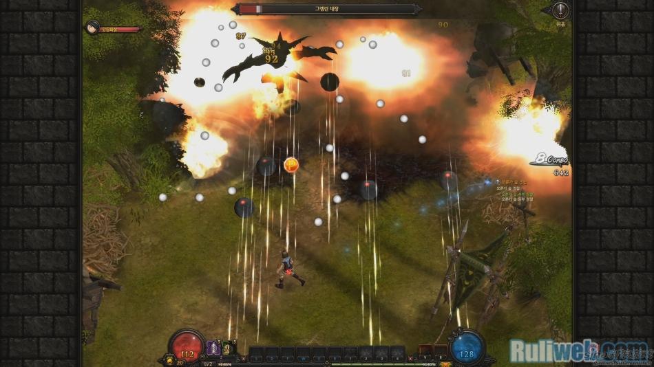 弹幕射击网游《镜子战争》二测截图
