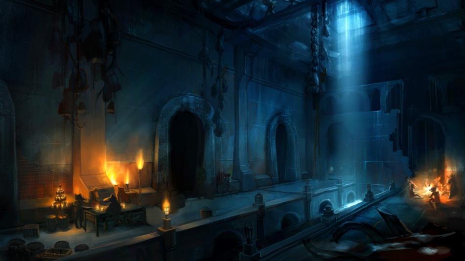 《无冬之夜OL》截图原画