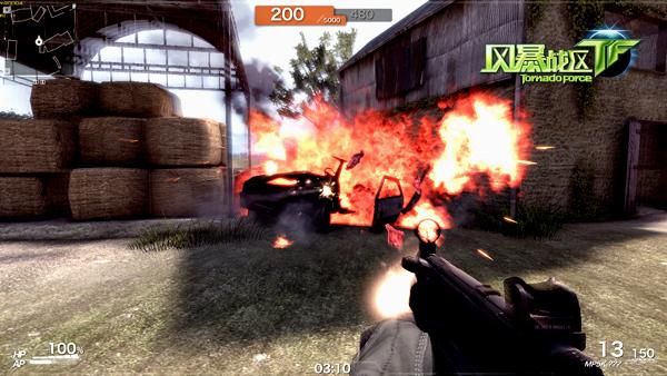 《风暴战区》游戏截图