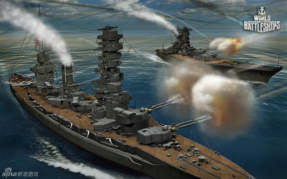 坦克世界军事系列第三部《战舰世界》