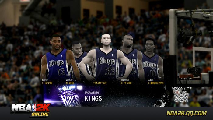 《NBA2KOl》游戏截图