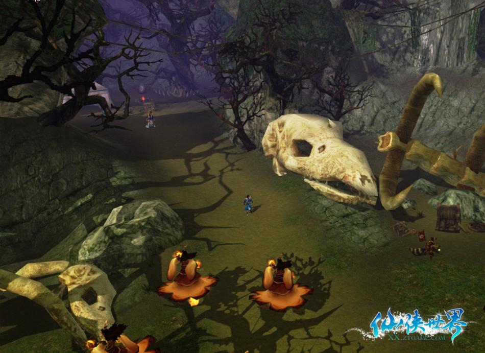 《仙侠世界》游戏截图