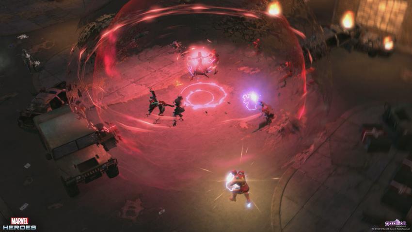 《漫威英雄传》游戏截图