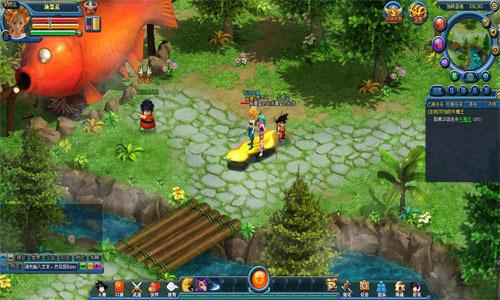 《龙珠世界》游戏截图
