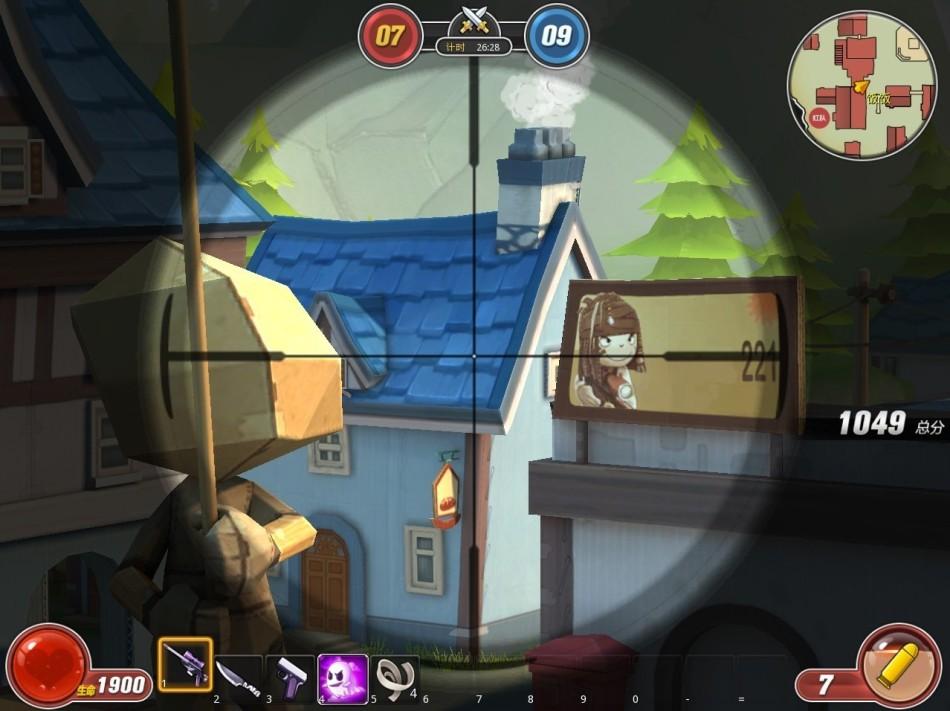 《创想兵团》游戏截图