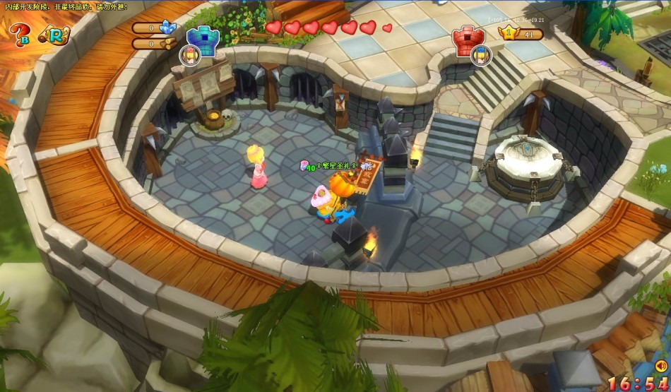 《疯狂勇士》游戏截图