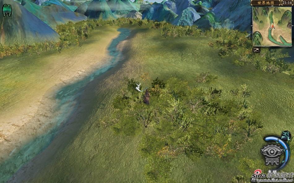 轩辕剑6太华山地图