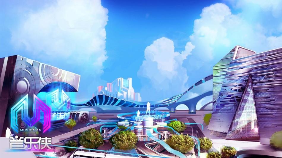 《音乐侠》未来城市