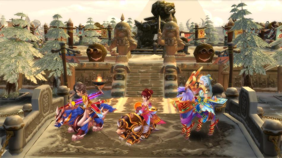 《新水浒Q传2》游戏截图