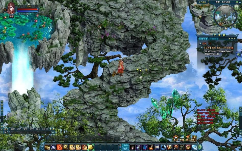 《真灵传说》游戏截图