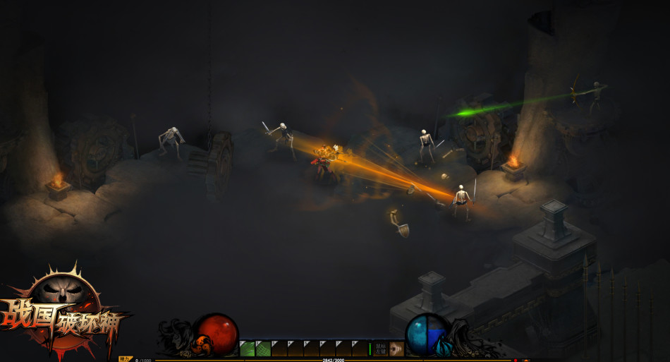《战国破坏神》游戏截图
