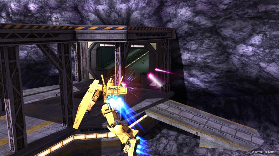 《机动战士敢达Online》游戏截图