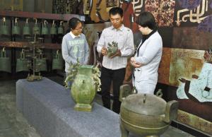 80后工匠 复活青铜器