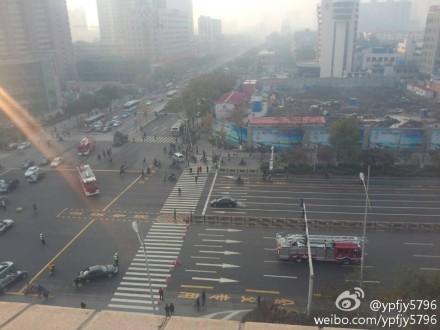 山西省委附近發生連環爆炸