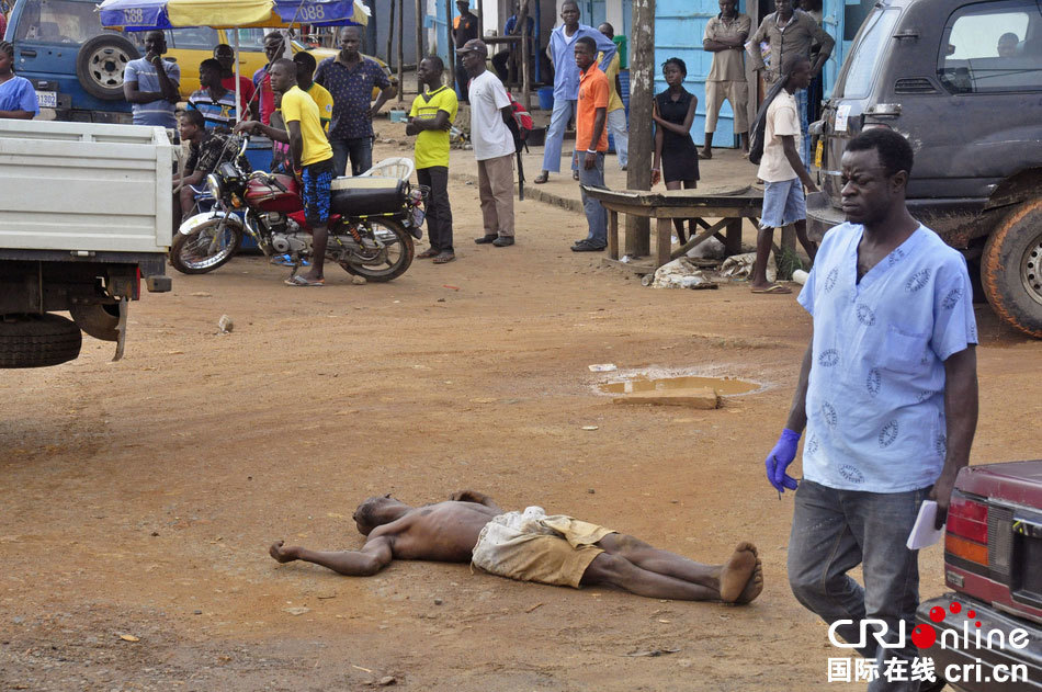 埃博拉持续扩散:街头现暴毙者医院护士罢工(组图)
