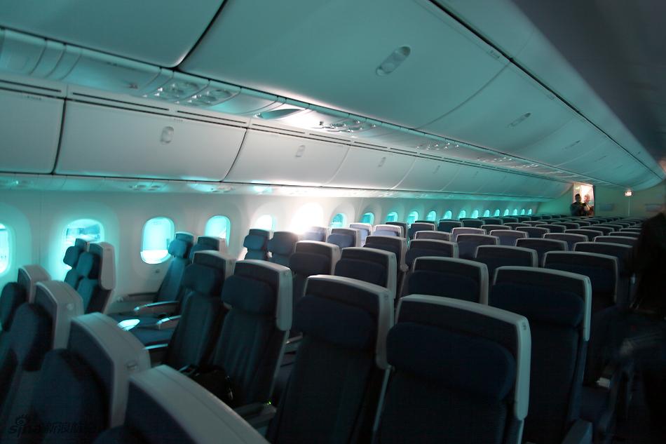 飛機經濟艙座位圖圖片