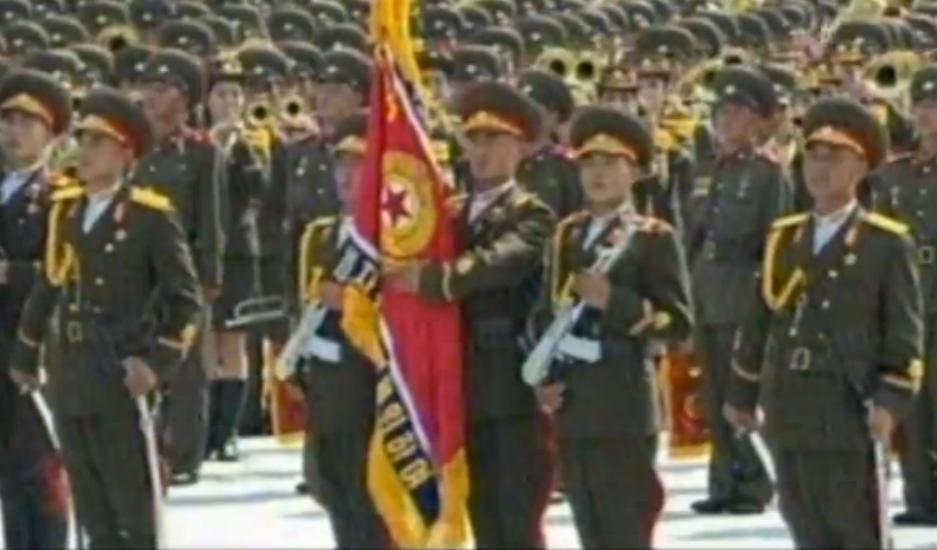 朝鲜鹅式步伐视频_朝鲜阅兵式_鹅式步伐_朝鲜阅兵式高清完整版-生活资讯网
