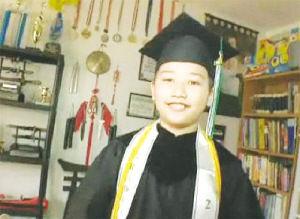 被稱為華裔神童的凱孝虎。(美國《僑報》 資料照片)