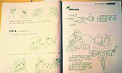 性亚洲色图_性教材突破传统教育底线 家长认为其为黄色漫画