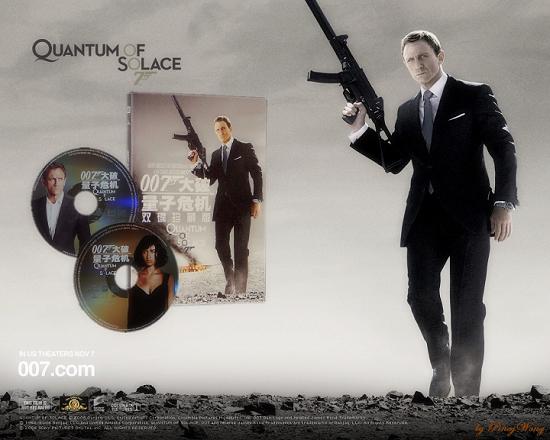 007大破量子危机dvd_《007大破量子危机》双碟版DVD独家测评(组图)_影音娱乐_新浪网