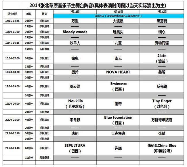 袁姗姗辞演小龙女_张北音乐节2014阵容_音乐节_科切拉音乐节_伍德斯托克音乐节