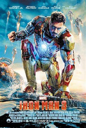 《鋼鐵俠3》海報