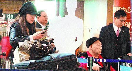 伊能静孤身奔北京传庾澄庆将发离婚声明(组图)