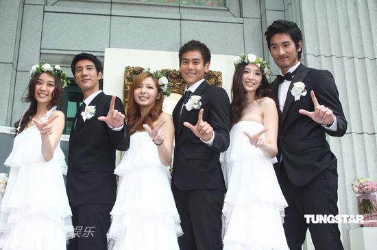 黑人范范结婚伴郎_图文:范黑婚礼-伴娘伴郎团_影音娱乐_新浪网