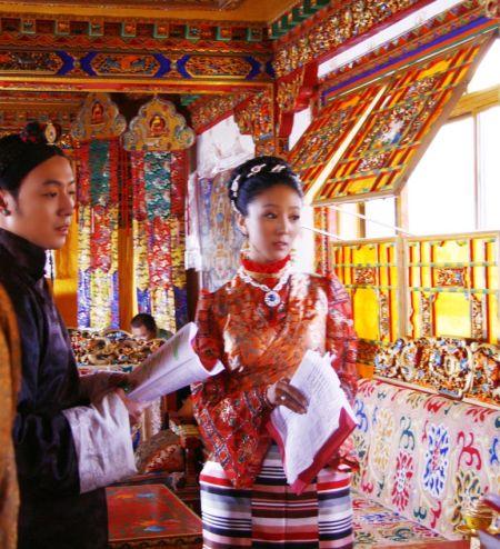 """佳组合的老公_""""藏版范冰冰""""阿佳卓玛华丽出演《西藏秘密》_影音娱乐_新浪网"""