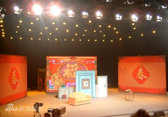 黄宏春晚小品_图文:春晚语言类四审-春晚舞台布置_影音娱乐_新浪网